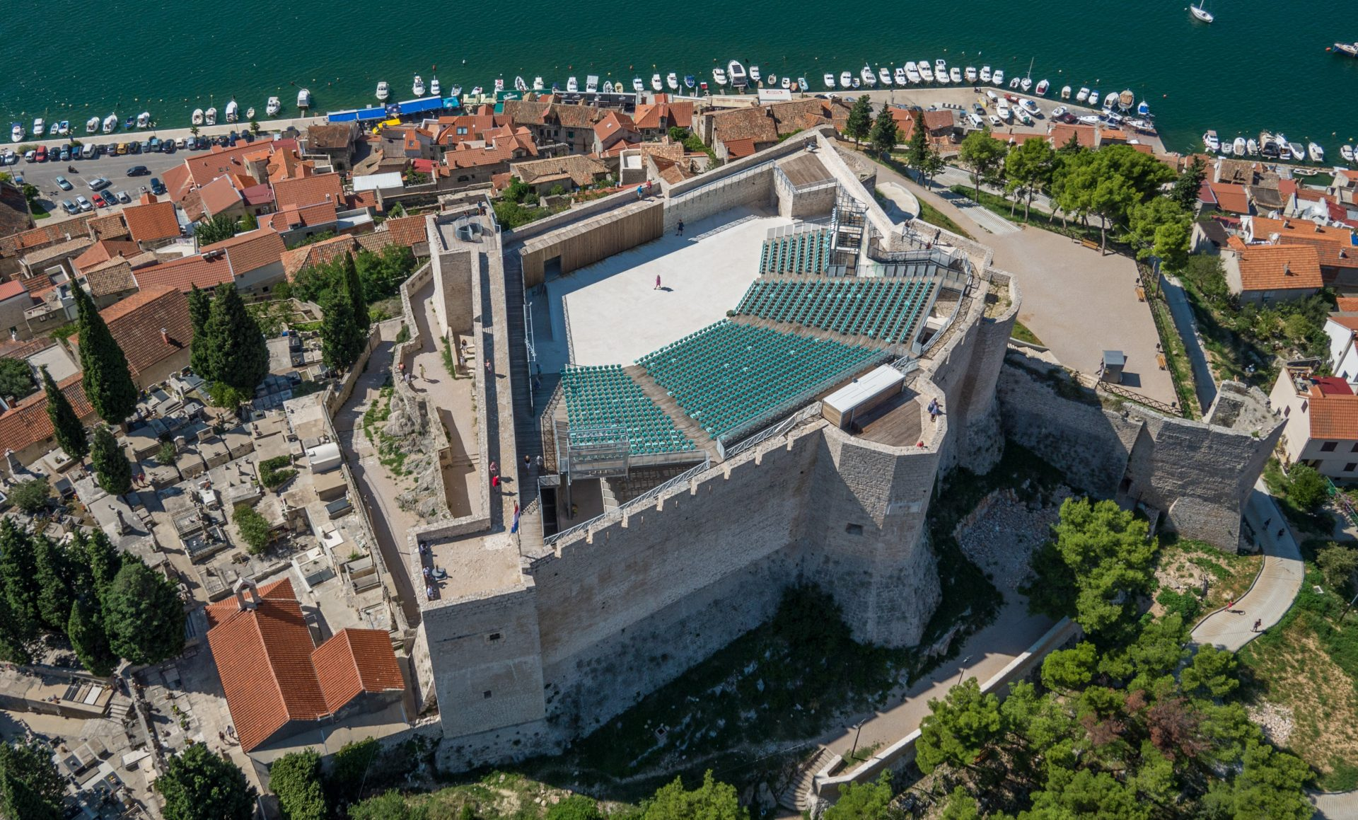 pañuelo de papel Funeral asignación  Project Fortress ReInvented listed as a positive example of modern culture  management - Interreg Croatia - Bosnia and Herzegovina - Montenegro